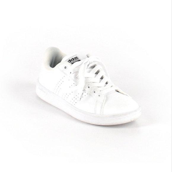 adidas Shoes - Adidas Size 6 All White Classic Sneakers